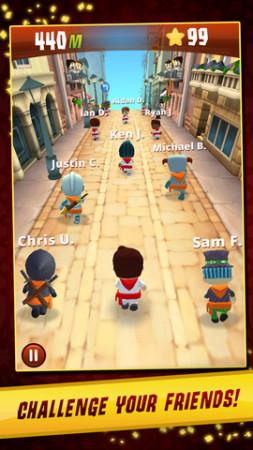 Zynga、スペインの牛追い祭を題材としたiOS向けアクションゲーム「Running with Friends」を正式リリース2