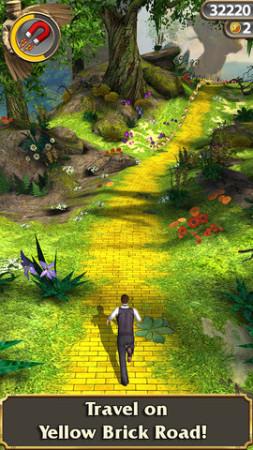ディズニー、映画「オズ はじまりの戦い」のスマホ向けゲームアプリ開発のため再度「Temple Run」とコラボ4