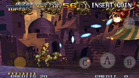 SNKプレイモア、iOS/Android版メタルスラッグシリーズ第4弾「メタルスラッグX」をリリース!3