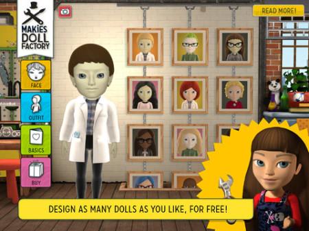 3Dプリンタ製ドール製作の「Makies」、iPadで人形のデータをモデリングできるアプリ「Makies Doll Factory」をリリース4