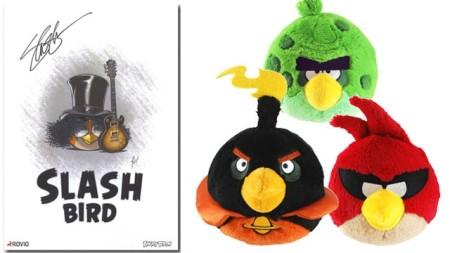 Angry Birdsの手作り作品を作ってSlashのサインをGETしよう! RovioとMashableがコンテストを開催