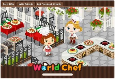 サイバーエージェント、Facebookにて新たなソーシャルゲーム「World Chef」をリリース1
