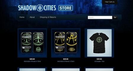フィンランドの位置ゲー「Shadow Cities」、公式グッズ販売をスタート
