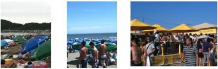 コロプラ、7/16~8/31に「コロプラBeach 2011 in 由比ガ浜」を実施1