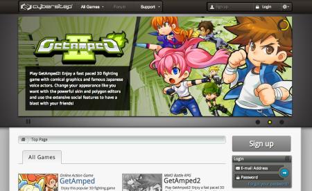 サイバーステップ、フィリピン向けオンラインゲームポータルサイト  「CyberStep Game Portal Site」をオープン!