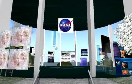 NASA、Second Lifeに教育センターをオープン