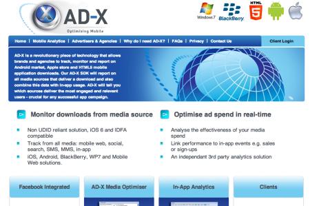 グリーアドバタイジング、英AD-Xと提携しスマホ向け広告効果計測ツール「AD-X」を提供開始