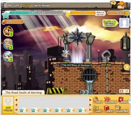 人気MMO「メイプルストーリー」のソーシャルゲーム版「MapleStory Adventures」、Facebookにて正式リリース