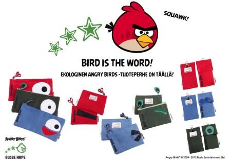 フィンランドの最強コラボ再び! エコブランド「GLOBE HOPE」とAngry Birdsがコラボ!1