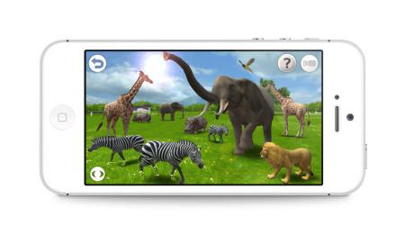 LINE、知育・教育アプリポータル「LINE キッズ」にてフル3Dの知育アプリ「リアルアニマルHD for LINE」をリリース1