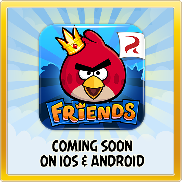 Rovio、Angry Birdsのソーシャルゲーム版「Angry Birds Friends」をスマホアプリ化!1