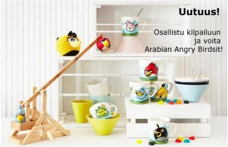 これぞフィンランドの最強コラボ! 陶器ブランドのArabia、6月にAngry Birdsとのコラボ商品を発売1