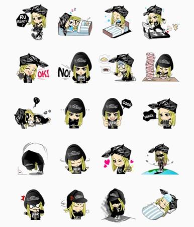 スタンプを買うともれなく新曲もGET! LINE、BIGBANGのG-DRAGONの新曲「ミチGO」をLINEスタンプと一緒に販売2