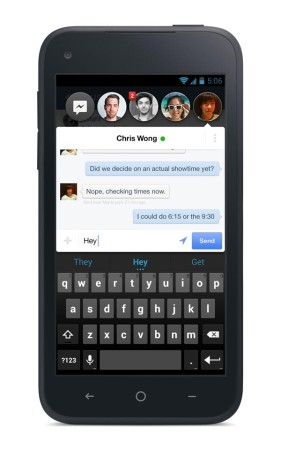 Facebook、独自のスマホ向けホームアプリ「Facebook Home」を4/12にリリース プリインストールされた端末もAT&Tより発売2