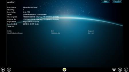 """仮想の""""月""""が15万ドルで売れた! スウェーデンの3D仮想空間「Entropia Universe」にて高額RMT成立"""