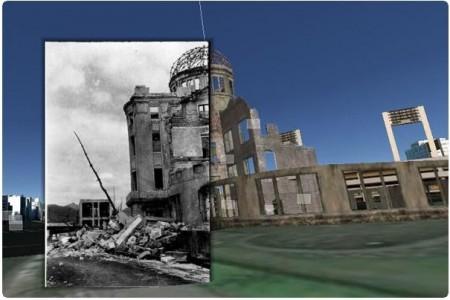 原爆の実相をGoogle Earth上で伝える---「Nagasaki Archive」に続き「Hiroshima Archive」も完成!