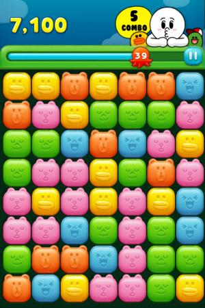 今度はムーンが主人公! LINE GAMEにて新パズルゲーム「LINE JELLY」提供開始!2