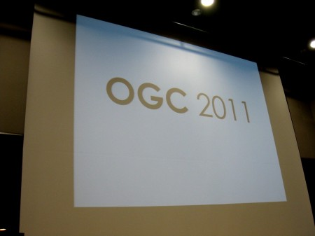【OGC2011レポート】東日本大震災で延期になっていた「OGC 2011」、ベルサール秋葉原にて開催1