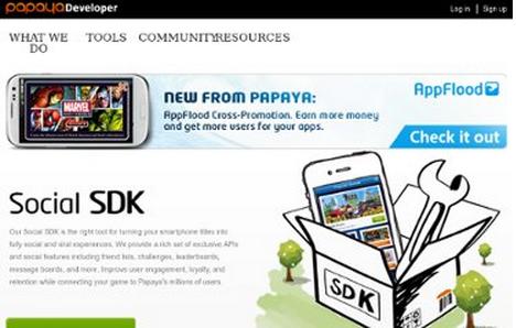 スマホ向けゲームプラットフォームのPapayaMobile、中国市場でのマネタイズを手助けするSDKを公開