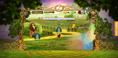 映画製作会社のサマータイム、アニメ映画「Regends of Oz: Dorothy's Return」の仮想空間をオープン3