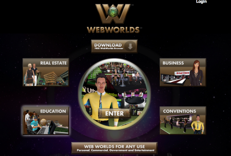3D仮想空間プラットフォームのUtherverse、Webブラウザベースの3D仮想空間「WebWorlds」をリリース