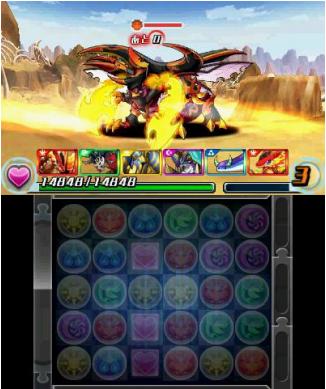ガンホー、「パズル&ドラゴンズ」の3DS版「パズドラZ」のスクリーンショットを公開6