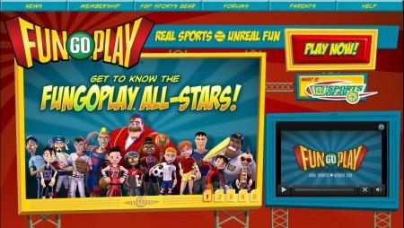リアルと連動した子供向けスポーツ仮想空間「FunGoPlay」