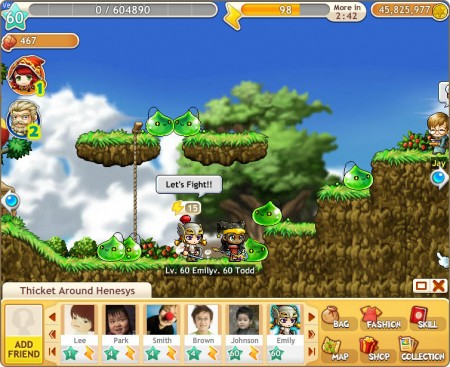 ネクソン、人気MMO「メイプルストーリー」をFacebook向けソーシャルゲームに