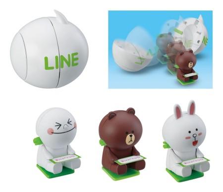 LINEが子供向けの玩具にも進出! タカラトミー、LINEの玩具シリーズを5月より順次発売7