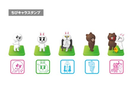 LINEが子供向けの玩具にも進出! タカラトミー、LINEの玩具シリーズを5月より順次発売8