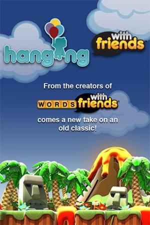 Zynga、iOS向け新作オリジナルゲーム「Hanging With Friends」リリース1