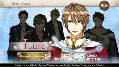 ボルテージ、恋ゲーム「愛を捧ぐ伝説の騎士」の英語翻訳版「A Knight's Devotion」をiOS&Android向けにリリース2