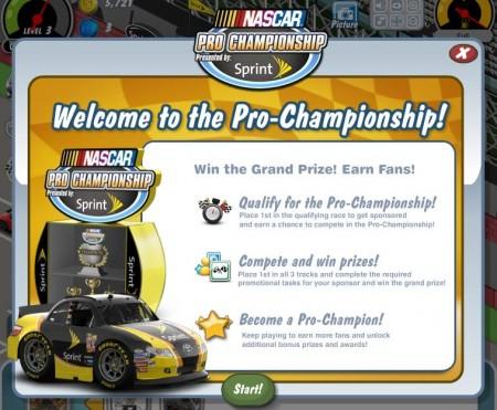 NASCAR、Facebookソーシャルゲーム「Car Town」にてプロモーション