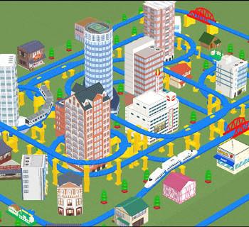 NHN Japanとタカラトミーエンタメディア、3D空間でプラレールで遊べるソーシャルゲーム「もっとプラレールで遊ぼう」をリリース