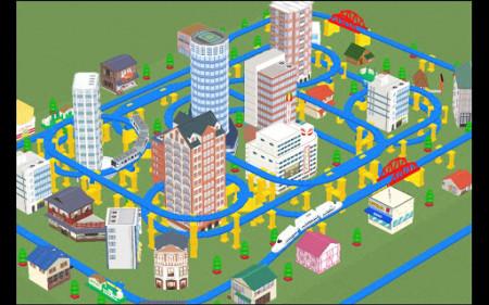 NHN Japanとタカラトミーエンタメディア、3D空間でプラレールで遊べるソーシャルゲーム「もっとプラレールで遊ぼう」をリリース1