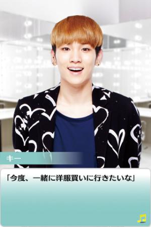 キューエンタテインメント、韓国アイドルグループ「SHINee(샤이니)」の恋愛ソーシャルゲーム「SHINee My Love」をGゲーでも提供開始!3