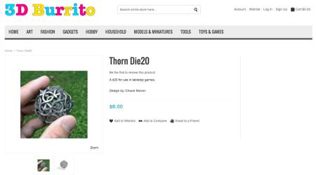 スウェーデン発の3Dモデル専門マーケットプレイス「3D Burrito」オープン!2