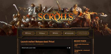 「Minecraft」のMojangの最新タイトル「Scrolls」が始動! 6/3よりオープンβテストを開始