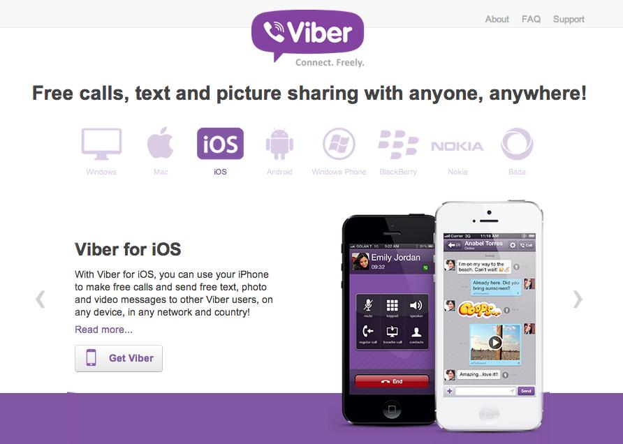 スマホ向け無料通話&メッセージングアプリ「Viber」が2億ユーザーを突破! PC/Mac版も公開