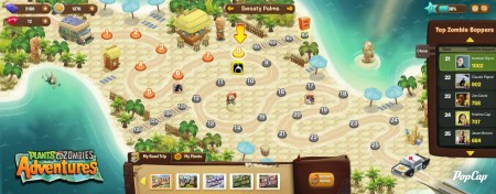 「Plants Vs. Zombies 2」の前に…PopCap Games、スピンオフタイトル「Plants vs. Zombies Adventures」をFacebookにてリリース!2