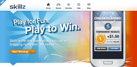 トーナメントで勝つと現金で賞金が貰えるAndroid向けゲームプラットフォーム「Skillz」登場