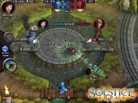 複数のプレイヤーで大バトル! Zynga、スマホ&タブレット向けの同時対戦ゲーム「Solstice Arena」を発表2