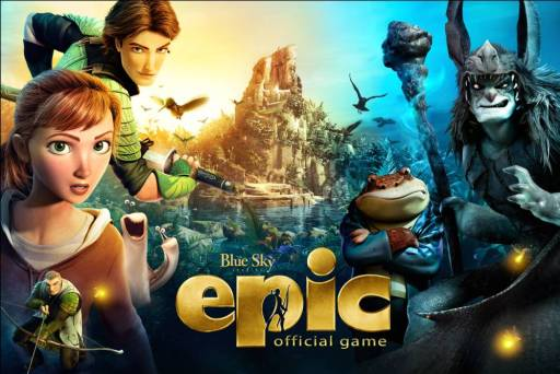 ゲームロフト、Foxのアニメ映画「Epic」の公式のスマホ向けゲームアプリを今月中にリリース