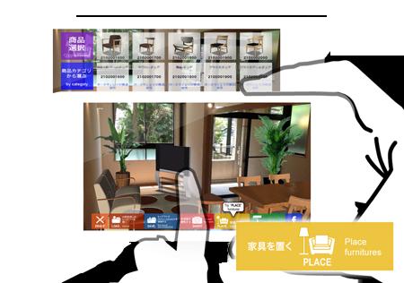 イーフロンティア、6月より家具の試し置きARアプリ「3D プランナー」を使った実証実験を開始2