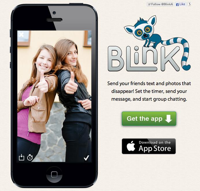米スタートアップのMeh Labs、iOS向けメッセージングアプリ「Blink」をリリース1