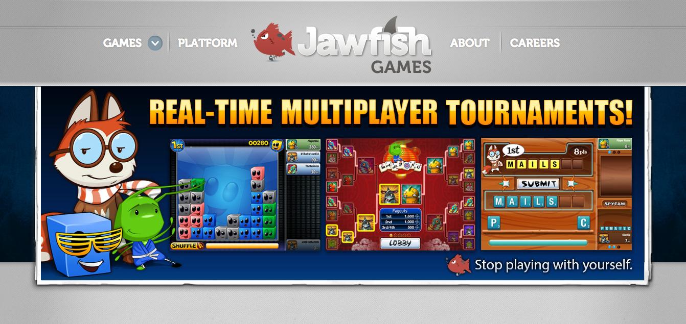 シアトルのスタートアップJawfish Games、10万人以上がリアルタイム・トーナメントに参加できるゲームプラットフォームを提供開始
