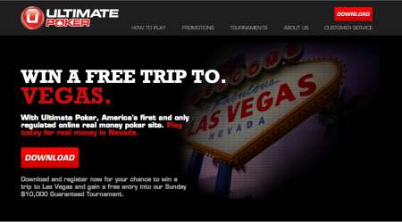 米ネバダ州でオンラインギャンブルが合法化 第1号オンラインカジノ「Ultimate Poker」オープン!