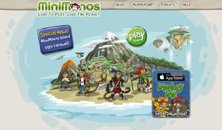 3年の歴史に幕…ニュージーランドの子供向け仮想空間「MiniMonos」、5/12を以てサービス終了2