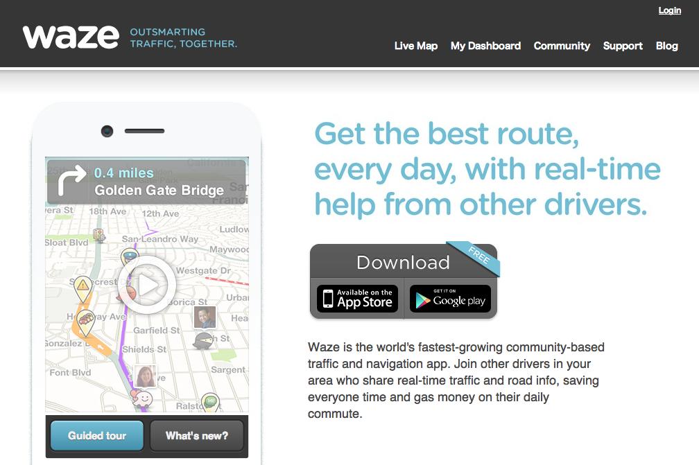 Facebook、イスラエル発のスマホ向け交通情報ナビアプリ「Waze」と買収交渉