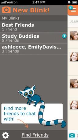 米スタートアップのMeh Labs、iOS向けメッセージングアプリ「Blink」をリリース3